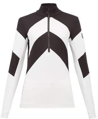 Toni Sailer Rosalie Half Zip Base Top - Womens - Black White