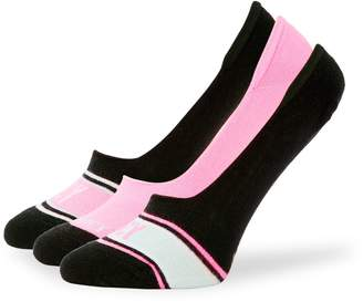 Juicy Couture 3-Pack Logo Liner Socks