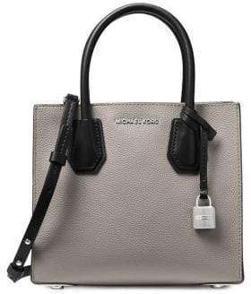 MICHAEL Michael Kors MD Messenger Mercer Leather Tote Bag