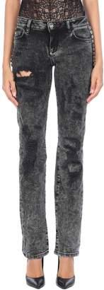 Philipp Plein Denim pants - Item 42696947LS