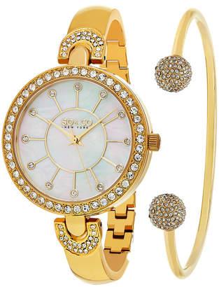 Co SO & So&Co Women's Madison Crystal Watch & Bangle Set