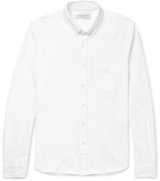 Orlebar Brown Oliver Slim-fit Button-down Collar Cotton-piqué Shirt