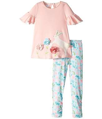 30fd17c4929590 Mud Pie Bunny Tunic and Leggings Set (Infant/Toddler)