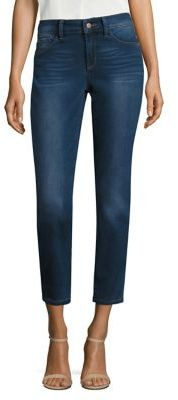 NYDJ Angie Skinny Ankle Cropped Jeans $134 thestylecure.com
