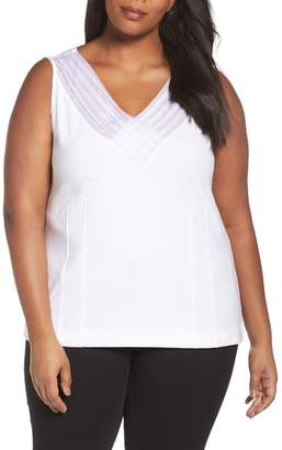 Nic+Zoe 'Sweet Pleat' Sleeveless Top