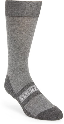 Bonobos Logo Stripe Dress Socks
