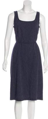 Ungaro Emanuel by Sleeveless Midi Dress