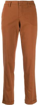 Fay slim-fit chino trousers