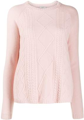 Peserico cable knit jumper