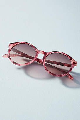 Anthropologie Blythe Round Cat-Eye Sunglasses