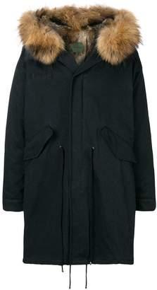 Amen hooded parka coat