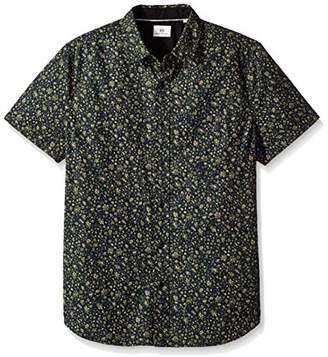 AG Adriano Goldschmied Men's Nash Short Sleeve Button Down Shirt