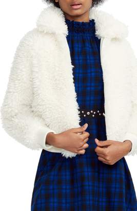 Maje Faux Fur Jacket