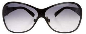 Dolce & Gabbana Gradient Shield Sunglasses