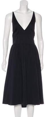 Chaiken Sleeveless Midi Dress