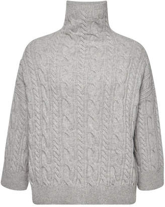 Max Mara Knit Pullover in Virgin Wool and Cashmere