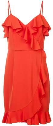 Trina Turk ruffle trim dress