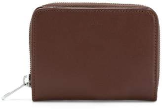 A.P.C. full zip coin wallet