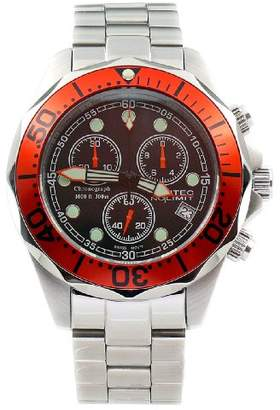 cef7f80a9d3 at Amazon.co.uk · Gents Nautec No Limit Watch Deep Sea Chronograph DS  QG10/STOR