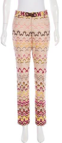 Missoni Iridescent Patterned Pants