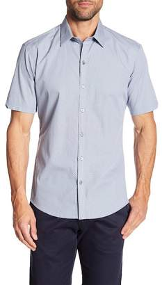 Zachary Prell Kraft Short Sleeve Modern Slim Fit Shirt