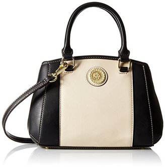 Anne Klein One To Watch Small Satchel Bag $75 thestylecure.com