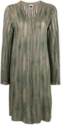 M Missoni collarless cardi coat