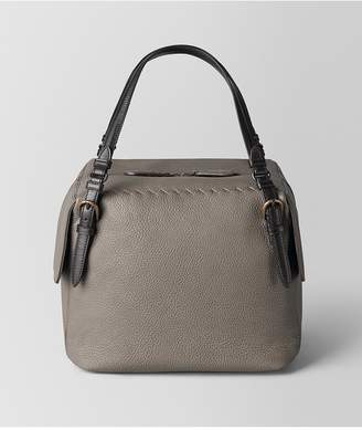 Bottega Veneta Steel Cervo Shoulder Bag