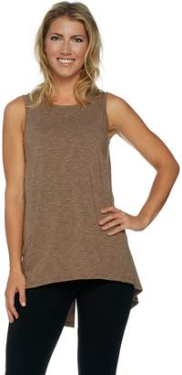 Anybody AnyBody Loungewear Cozy Knit Split Back Tank Top