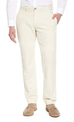 Billy Reid Leonard Slim Leg Cotton & Linen Chinos