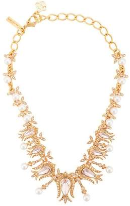 Oscar de la Renta tulip necklace