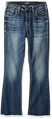 Silver Jeans Women's Izzy High-Rise Ankle-Kicker
