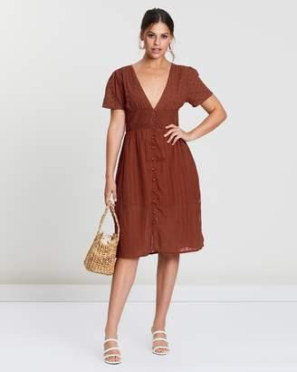 MinkPink Juliette Midi Dress