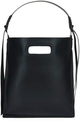 AllSaints Leather Voltaire Flat Hobo Bag