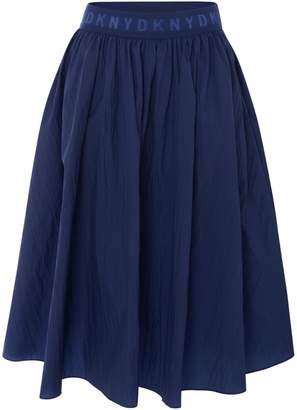 DKNY Girls A-Line Midi Skirt