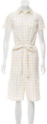 Marc Jacobs Polka Dot Midi Dress