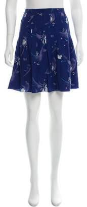 Derek Lam Silk Mini Skirt