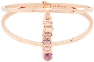 Marie Mas - Amethyst, Topaz & Pink Gold Bangle - Womens - Pink