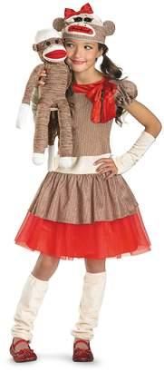 Disguise Sock Monkey Girl Costume