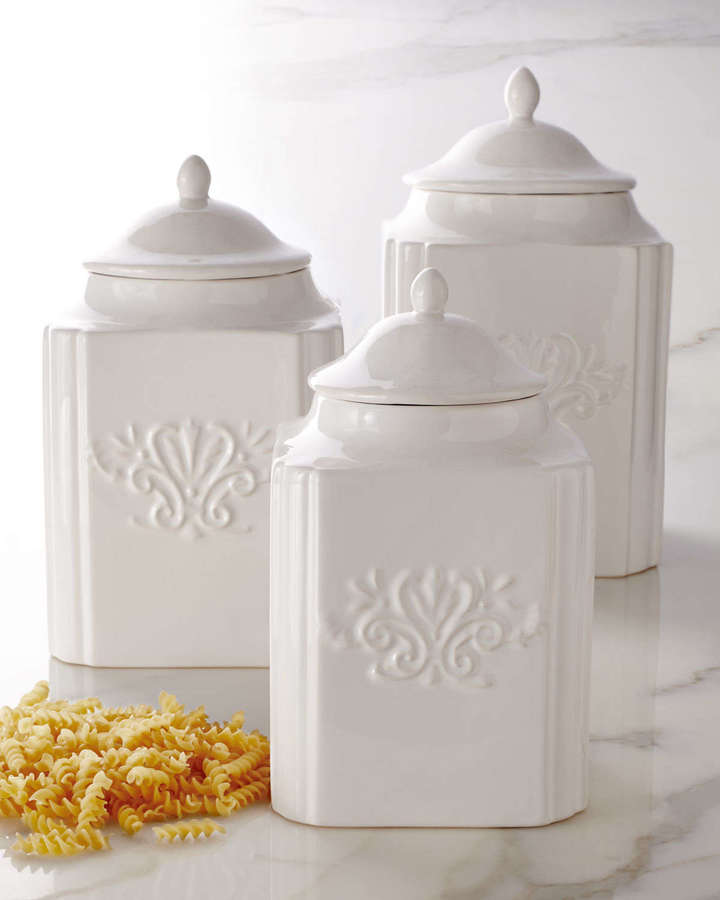 NM Exclusive Three Emblem Canisters
