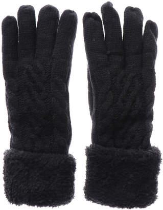 Grandfleur (グランドフルール) - グランドフルール grandfleur 縄編み五指ボア手袋
