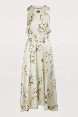 Forte Forte Faces printed dress