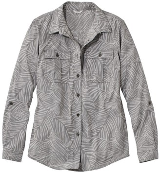 L.L. Bean L.L.Bean Women's Lakeside Performance Shirt, Print