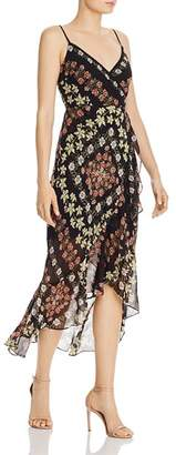 GUESS Makaila Floral-Print High/Low Dress