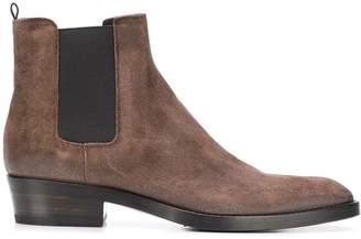 Buttero Cuban heel Chelsea boots
