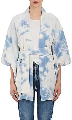 The Elder Statesman Women's Tie-Dyed Cotton Kimono Jacket