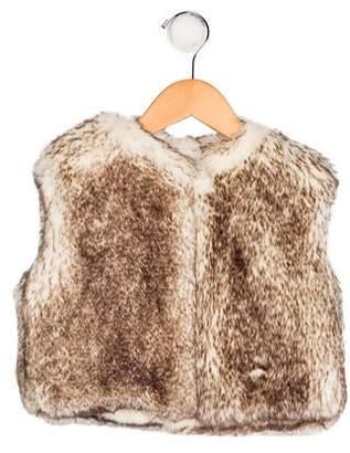 Carrera Pili Girls' Faux Fur Vest