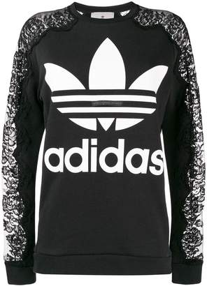 adidas by Stella McCartney lace sweatshirt