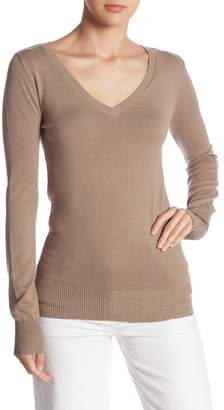 Abound Knit V-Neck Sweater