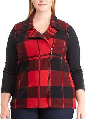 Chaps Plus Size Sweater Vest